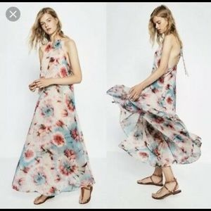Zara Tie Dye Maxi Dress